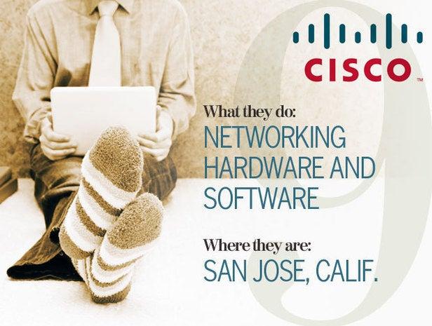 Cisco, telecommuting