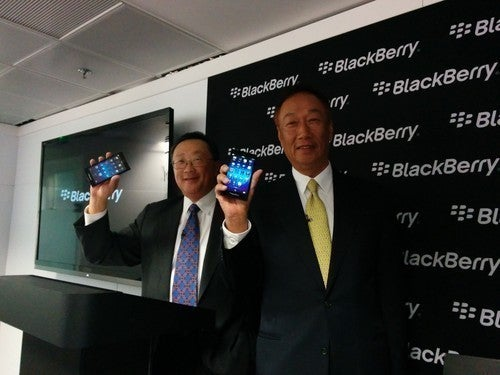 BlackBerry outsources itself