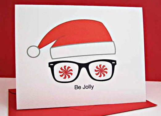 geekiest holiday cards