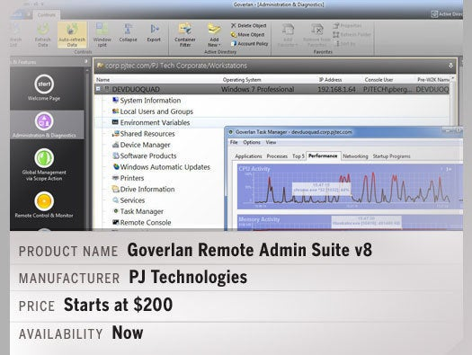 Goverlan Remote Admin Suite v8