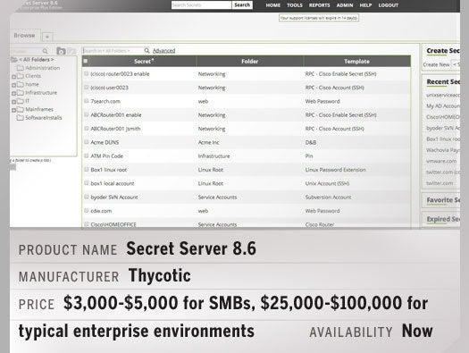 Secret Server 8.6