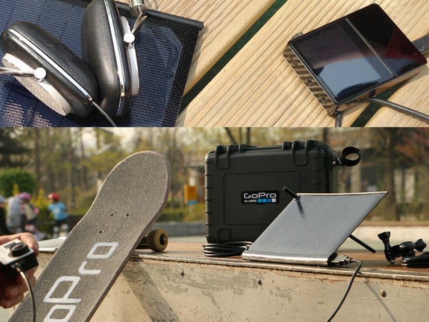 World's smallest Solar Charger