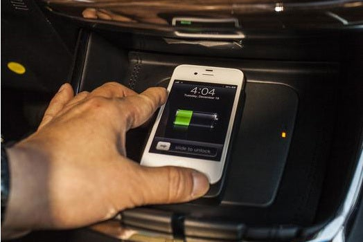 2013 Toyota Avalon wireless charging