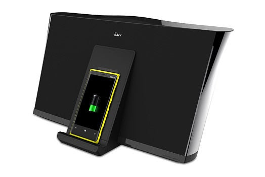 iLuv MobiRock wireless charging speaker