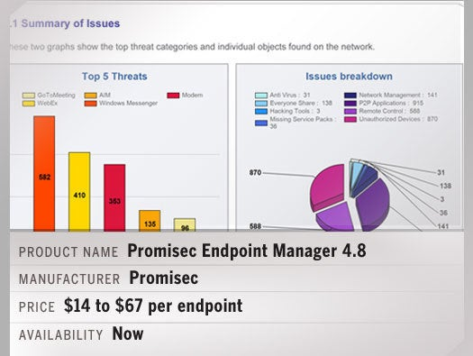 Promisec Endpoint Manager 4.8