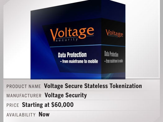 Voltage Secure Stateless Tokenization