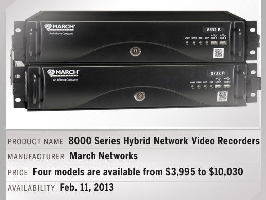 March Networks 8000 Series Hybrid Network Video Recorders
