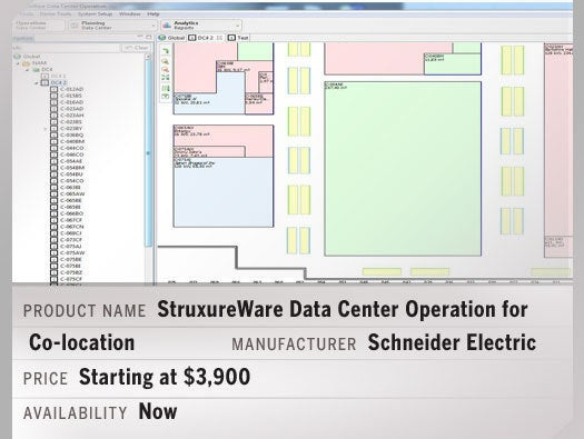 StruxureWare Data Center Operation for Co-location