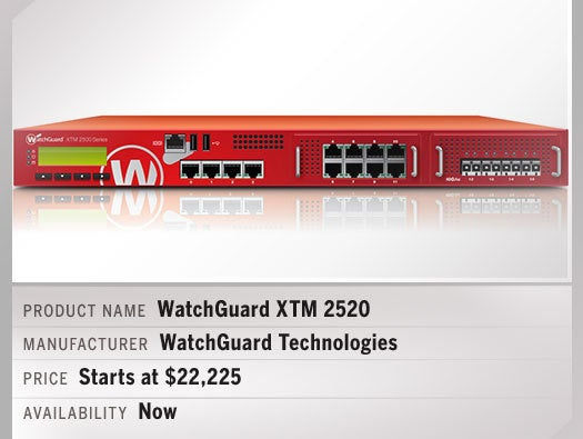 WatchGuard XTM 2520