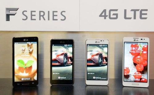 LG's prime Optimus smartphones