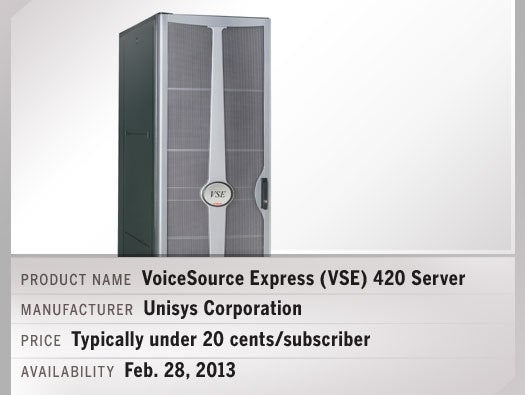 VoiceSource Express (VSE) 420 Server