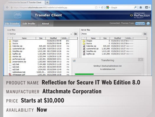 Reflection for Secure IT Web Edition 8.0