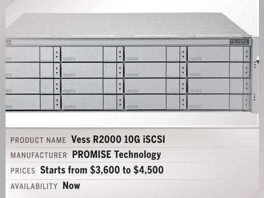Vess R2000 10G iSCSI