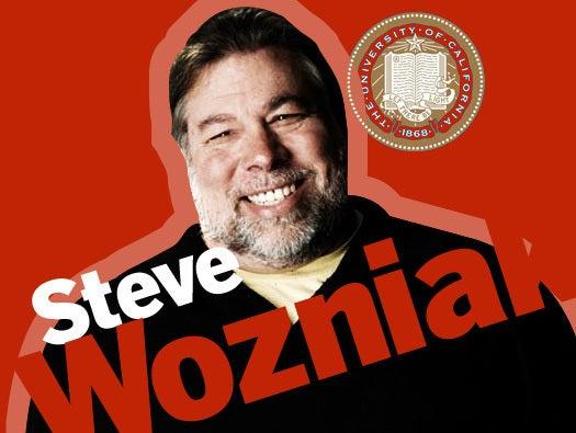 Steve Wozniak, UC Berkeley, May 18