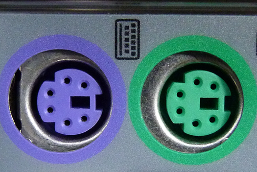 PS/2 connectors