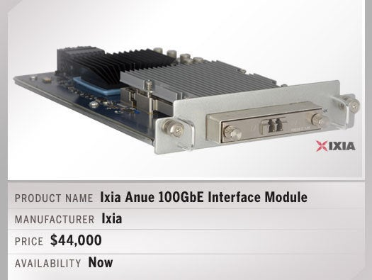 Ixia Anue 100GbE Interface Module