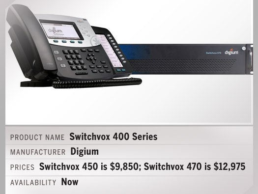 Switchvox 400 Series