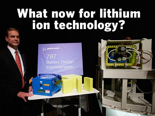 What now for lithium ion technology?
