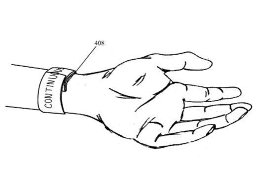 2013: Apple files patent for flexible slap bracelet display