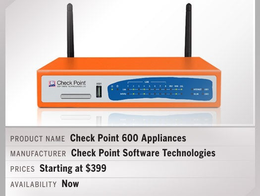Check Point 600 Appliances