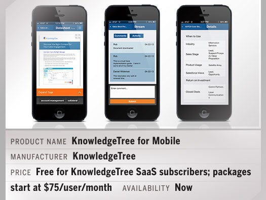 KnowledgeTree for Mobile
