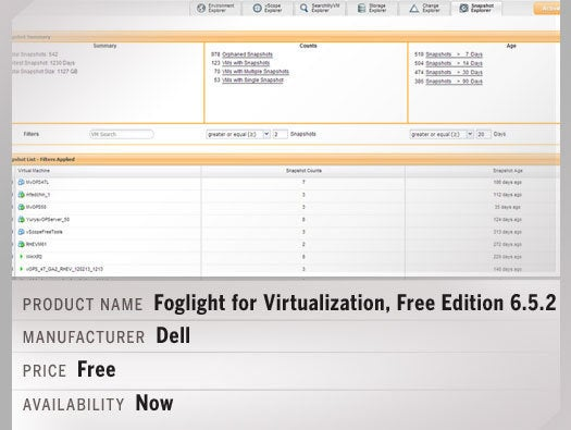 Foglight for Virtualization, Free Edition 6.5.2