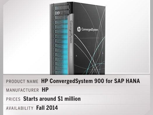 HP ConvergedSystem 900 for SAP HANA