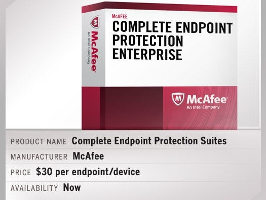 McAfee Complete Endpoint Protection Suites