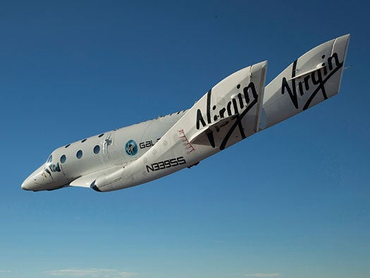 Virgin Galactic SpaceShip2