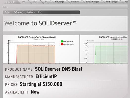 SOLIDserver DNS Blast