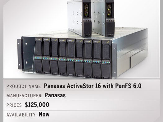 Panasas ActiveStor 16 with PanFS 6.0