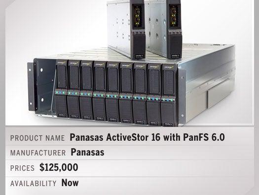 Panasas ActiveStor 16 with PanFS 6.0