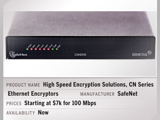 SafeNet High Speed Encryption Solutions, CN Series Ethernet Encryptors