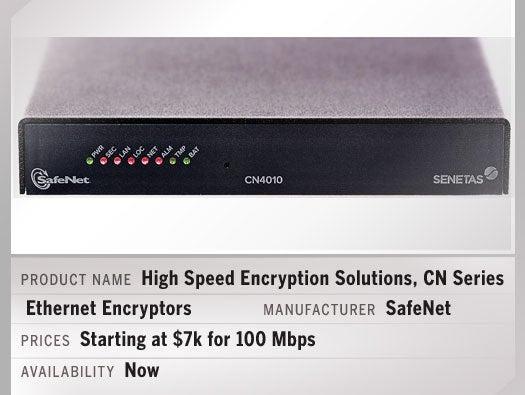SafeNet High Speed Encryption Solutions, CN Series Ethernet Encryptors