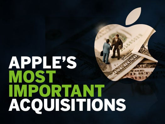 Apple's most important acquisitions
