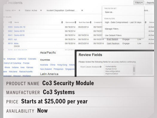 Co3 Security Module