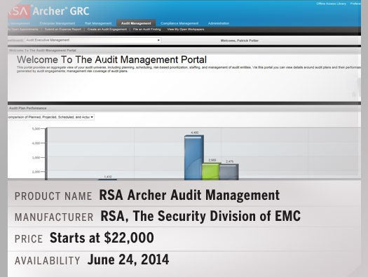 RSA Archer Audit Management