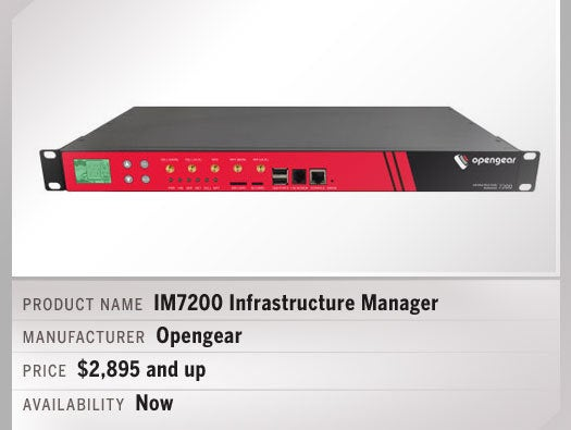 IM7200 Infrastructure Manager