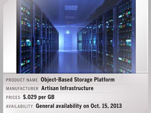 Artisan Infrastructure Object-Based Storage Platform