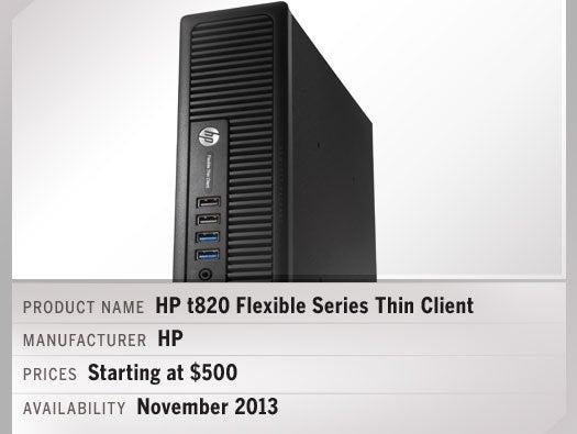 HP t820 Flexible Series Thin Client