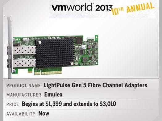 Emulex LightPulse Gen 5 Fibre Channel Adapters