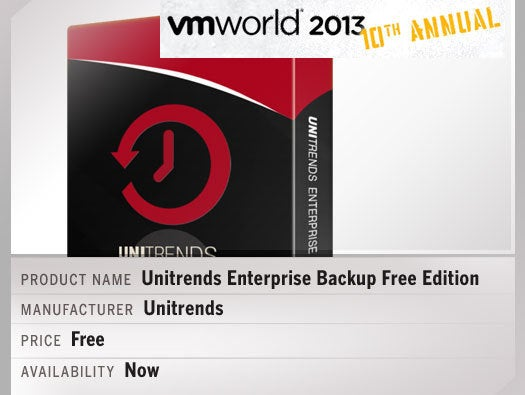 Unitrends Enterprise Backup (UEB) Free Edition