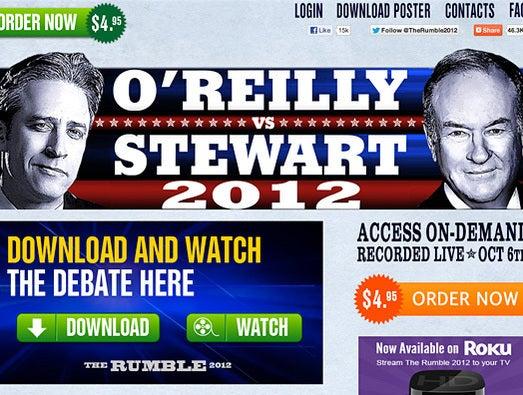 O'Reilly vs. Stewart vs. the Internet