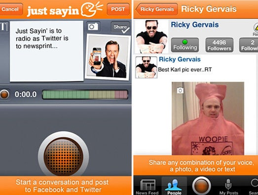 Ricky Gervais gets appy