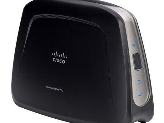 Cisco Linksys WUMC710 Wireless-AC Wi-Fi 5GHz Universal Media Connector Bridge