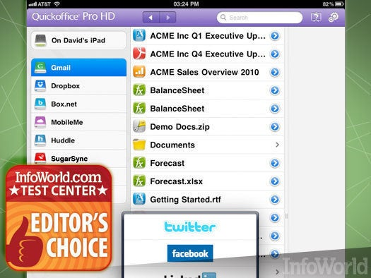 Google Quickoffice Pro HD