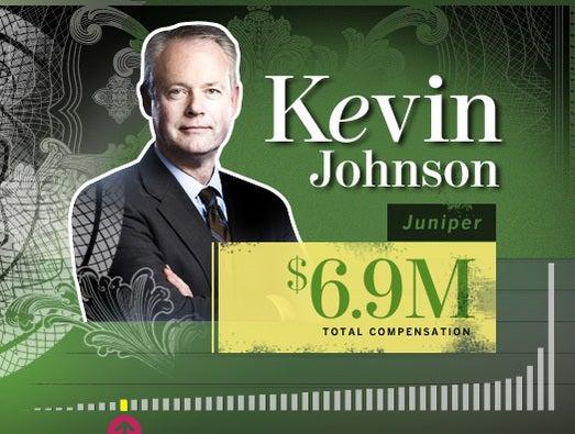 Kevin Johnson, Juniper CEO