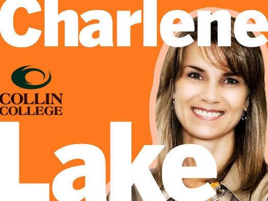 Charlene Lake, Collin College, May 17