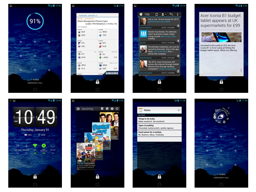 Android lock screen widgets: 20 excellent options | Network