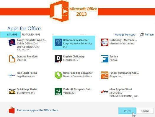 30 Apps That Improve Microsoft Office 2013